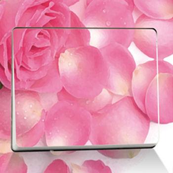 窩自在★DIY無痕創意牆貼/隨意貼-粉紅花瓣開關貼