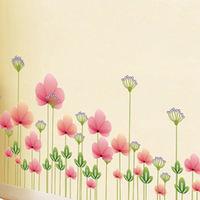 窩自在~DIY無痕 牆貼 ^#47 壁貼 ^#45 唯美花朵 ^#95 AY7205 ^#