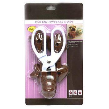【ZARATA】三合一心形梅花星星模具模形棒棒糖夾剪刀