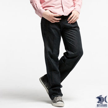 【NST Jeans】390(5320) 3D拼接效果雙線車縫牛仔長褲(中腰)