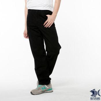 【NST Jeans】390(5315) 黑系電繡圖騰休閒長褲(中腰)