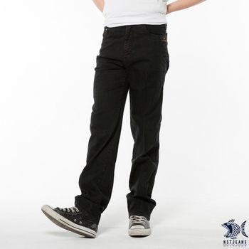 【NST Jeans】390(5309) 旗幟圖騰混搭拼接牛仔長褲(中腰) 刷洗 個性 潮男必備