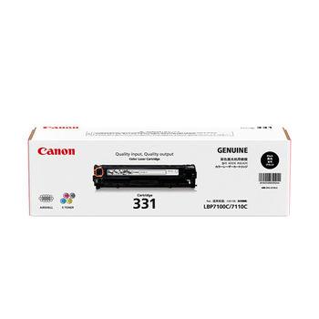 CANON CRG-331BK 原廠黑色碳粉匣