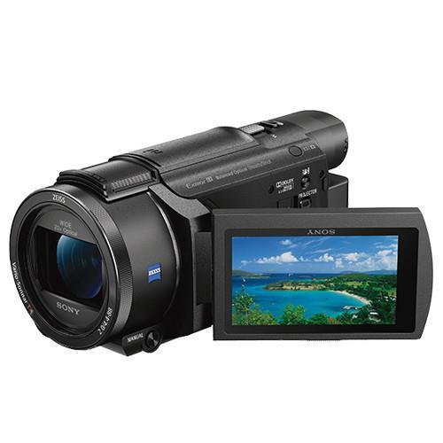 [高速128G+長效電池] SONY FDR-AXP55 4K高畫質攝影機 (公司貨)-@