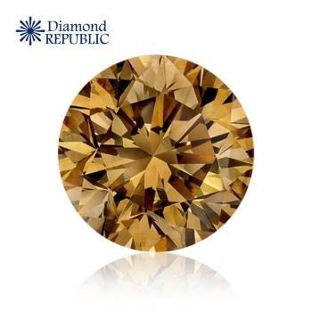 【鑽石共和國】GIA 圓型巧克力彩鑽0.33克拉 FB / VS1