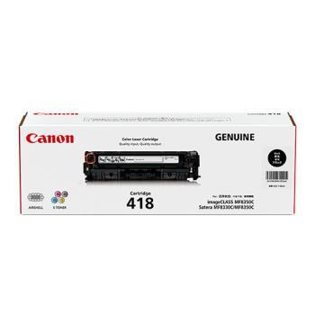 CANON CRG-418BK 原廠黑色碳粉匣