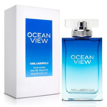 Karl Lagerfeld卡爾·拉格斐 卡爾海灣戀人限量男性淡香水(100ml)-送品牌體香膏