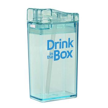 【Drink in the box】Tritan兒童運動吸管杯-果凍藍