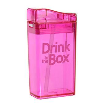 【Drink in the box】Tritan兒童運動吸管杯-果凍粉