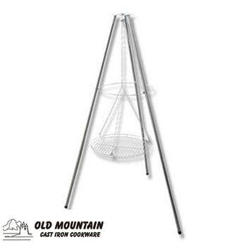 Old Mountain 美國鑄鐵鍋-TG三角吊架-可調高18~60