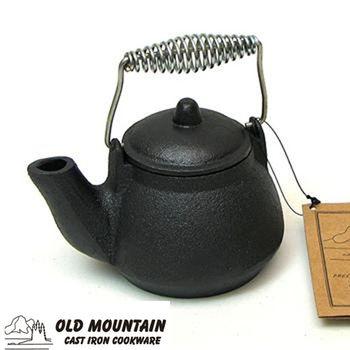 Old Mountain 美國鑄鐵鍋-MTK鑄鐵水壺(附提把)0.4L