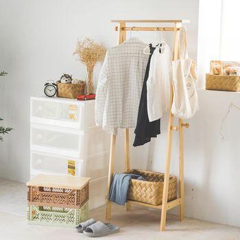 《舒適屋》艾布特A字型高質感置物衣架/收納架(2色可選)