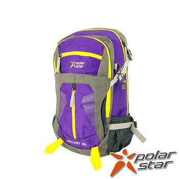 PolarStar 透氣後背包|電腦後背包 38L 『紫』 P15807 登山背包