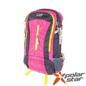 PolarStar 專業登山背包|透氣網架背包 40L (附背包防水套)『桃紅』 P15806
