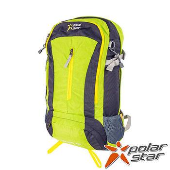PolarStar 專業登山背包|透氣網架背包 40L (附背包防水套)『綠』 P15806