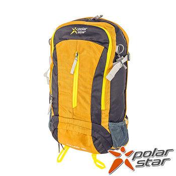 PolarStar 專業登山背包|透氣網架背包 40L (附背包防水套)『黃』 P15806