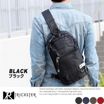 【TRICKSTER】日本品牌 6個口袋 斜背包 腳踏車包 B5 單肩後背包 iPad大小 多夾層機能包【tr002】