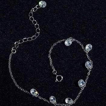 【米蘭精品】925純銀手鍊手環優雅流行
