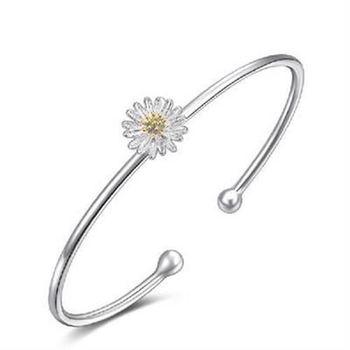 【米蘭精品】925純銀手鍊手環標緻優雅流行
