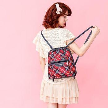 【金安德森】英式學院 可愛系甜心單品後背包