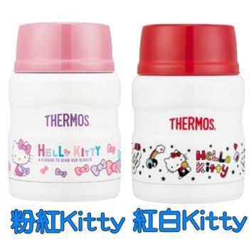 膳魔師 【SK3000KT/SK3000】不鏽鋼真空保溫食物罐 0.47L-KITTY