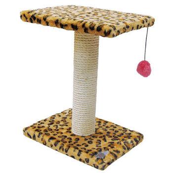 【PET SWEET】貓跳台-双層跳板+麻繩球(PW-104)