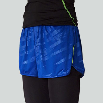男款 短褲 慢跑褲 飄飄褲 馬拉松褲 無內裡 超快速吸排 新色上市 海藍
