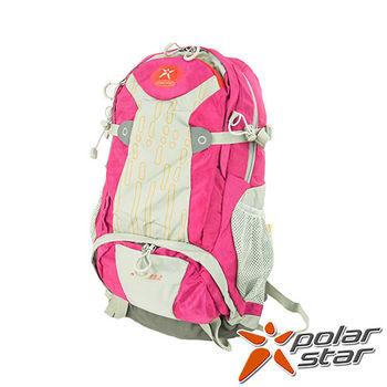 PolarStar 透氣後背包|登山背包 35L (附背包防水套)『桃紅』 P15817