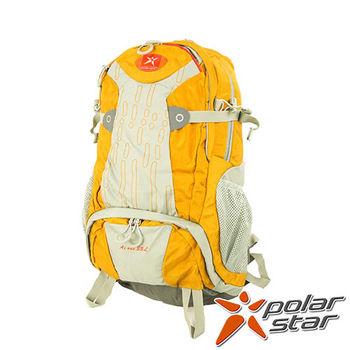 PolarStar 透氣後背包|登山背包 35L (附背包防水套)『黃』 P15817