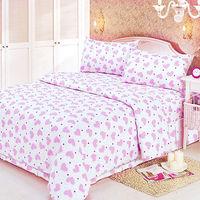 Ailsa 可愛甜心 單人三件式被套床包組