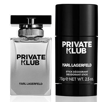 【KARL LAGERFELD】派對卡爾男性淡香水50ml(加贈派對卡爾體香膏75g)