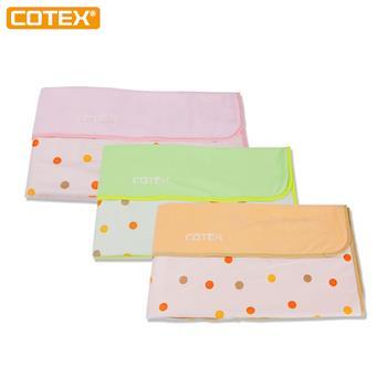 【COTEX】 圓點防尿毯-外出換尿布的好幫手
