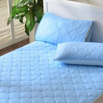 義大利La Belle《繽紛漾彩》超涼感信封式保潔枕套--2入