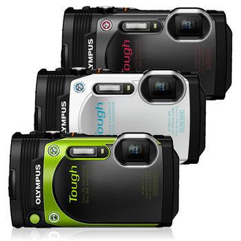 [64G雙電充全配] OLYMPUS TG-870 自拍防水相機 (公司貨)