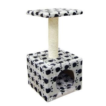 【PET SWEET】貓跳台-雙層方形山洞(PW-123)