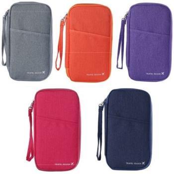 [ fun bag ]新款 毛氈 護照包 證件 整理袋 票夾包 手拿包 零錢包 長夾護照包
