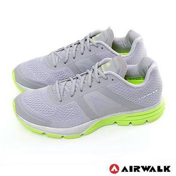 【美國 AIRWALK】記憶穩走太空網紋透氣運動鞋 - 男-共三色
