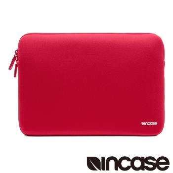【INCASE】Neoprene Classic Sleeve 15吋 經典尼龍防震保護筆電內袋-紅