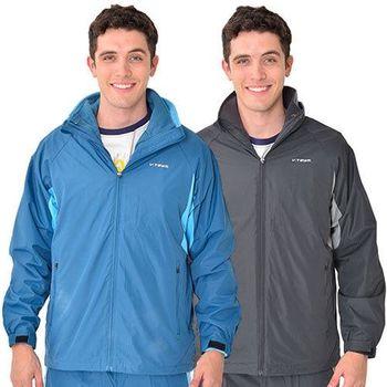 V.TEAM-兩件式超保暖防潑水外套-男-共二色