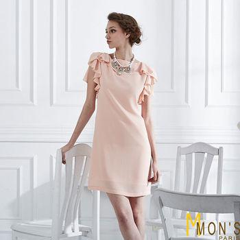 MONS時尚氣質雪紡洋裝