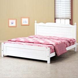 【時尚屋】[UZ6]歐風5尺雙人床架UZ6-106-4不含床頭櫃-床墊
