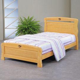 【時尚屋】[UZ6]艾莉絲3.5尺檜木加大單人床UZ6-98-3不含床頭櫃-床墊