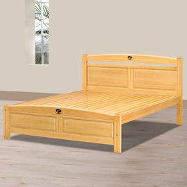 【時尚屋】[UZ6]安麗檜木5尺雙人床UZ6-97-3不含床頭櫃-床墊