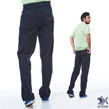 【NST Jeans】 390(5350) 經典單寧雨絲紋牛仔長褲(中腰)