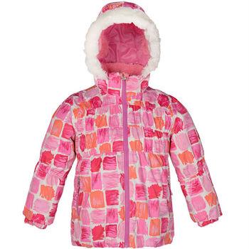 【聖伯納 St.Bonalt】女童-防水鋪棉滑雪外套-水藍迷彩(87037)