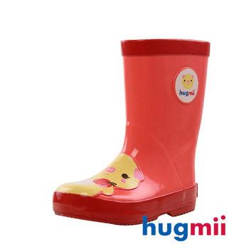 【hugmii】童趣造型兒童橡膠雨鞋 小豬