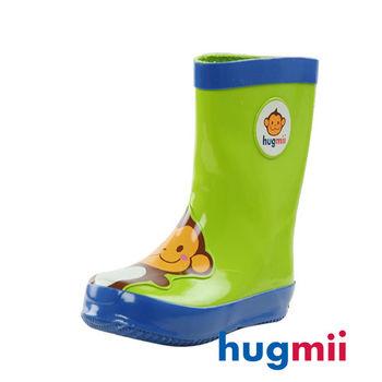 【hugmii】童趣造型兒童橡膠雨鞋 猴子