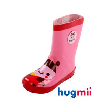 【hugmii】童趣造型兒童橡膠雨鞋 瓢蟲