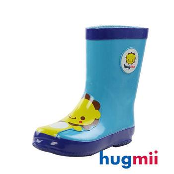 【hugmii】童趣造型兒童橡膠雨鞋 獅子