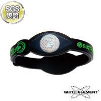 ~第六元素~IEB負離子高能量手環 508 綠字黑